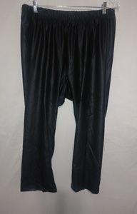 TORRID Black Sheen Crop Pants 3X Plus